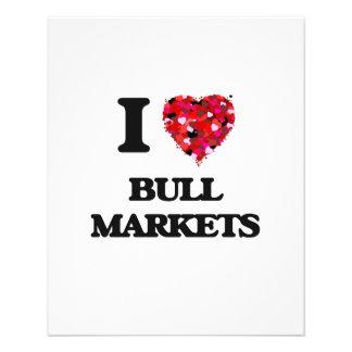 I Love Bull Markets 11.5 Cm X 14 Cm Flyer