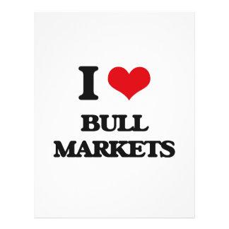 I Love Bull Markets Flyer