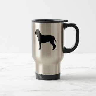 I Love Bullmastiffs Travel Mug