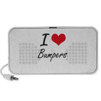I Love Bumpers Artistic Design PC Speakers