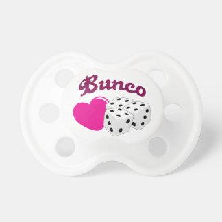 I Love Bunco Pacifier