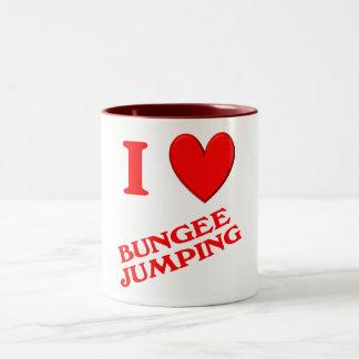 I Love Bungee Jumping Coffee Mugs