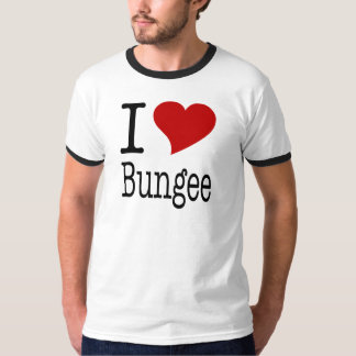 I Love Bungee T-shirts