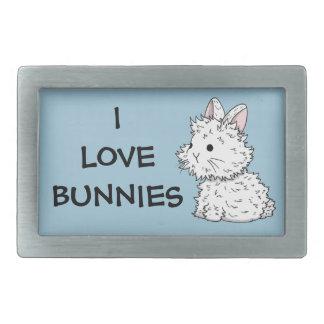 I love bunnies Belt buckle - Colour of your choice