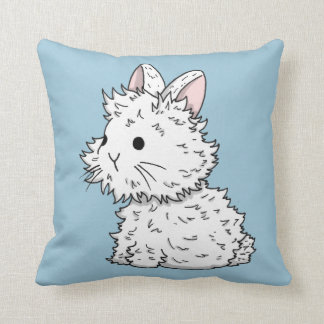 I love bunnies pillow - Color of your choice