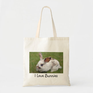 I love bunnies shopping bag