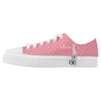 I Love Bunnies Zipz Women's Sneakers