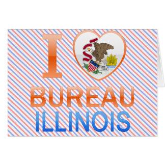I Love Bureau IL Card