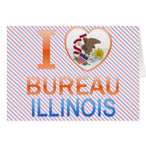 I Love Bureau, IL Card