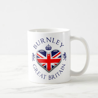 I Love Burnley Coffee Mug