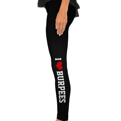 I Love Burpees, Fitness Legging