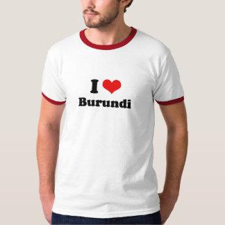 I Love Burundi Tshirt