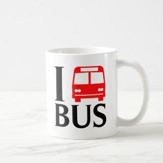 I Love Bus I Love The Bus Bus Mugs