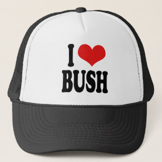 I Love Bush Trucker Hat