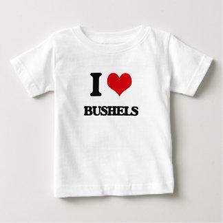 I Love Bushels T Shirts