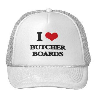 I Love Butcher Boards Hat