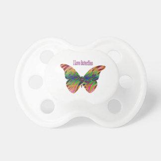 I Love Butterflies Pacifier