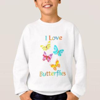 I Love Butterflies Sweatshirt