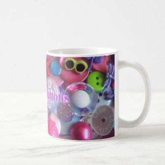 I Love Buttons Mug