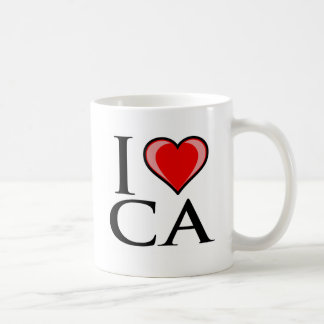 I Love CA - California Coffee Mug