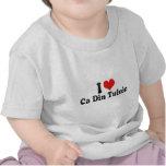 I Love Ca Din Tulnic Tee Shirt
