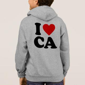 I LOVE CA HOODIE