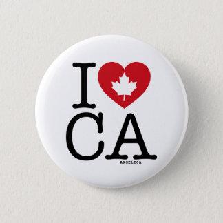 I Love CA | I Love Canada Custom Pin Buttons