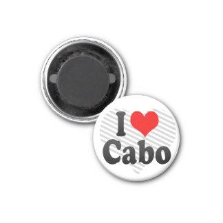 I Love Cabo, Brazil. Eu Amo O Cabo, Brazil 3 Cm Round Magnet