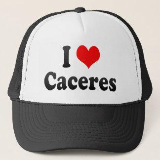 I Love Caceres, Spain Trucker Hat
