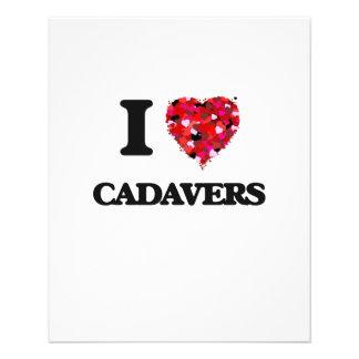 I love Cadavers 11.5 Cm X 14 Cm Flyer