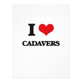 I love Cadavers 21.5 Cm X 28 Cm Flyer