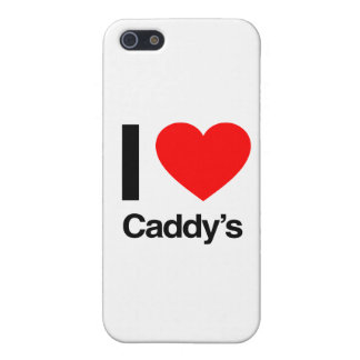 i love caddy's cover for iPhone 5/5S