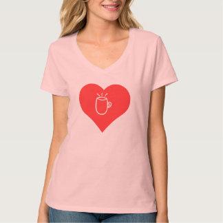 I Love Caf� Glace Tshirts
