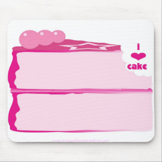I Love Cake Mouse Mat