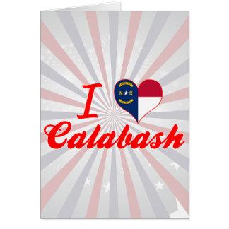 I Love Calabash, North Carolina Cards