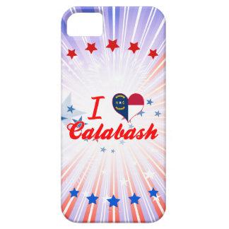 I Love Calabash, North Carolina iPhone 5 Case