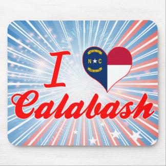 I Love Calabash, North Carolina Mousepads
