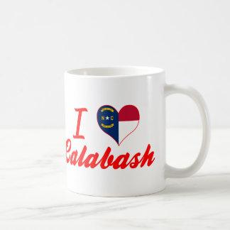 I Love Calabash, North Carolina Mug