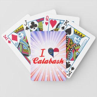 I Love Calabash North Carolina Poker Deck