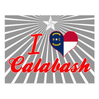 I Love Calabash, North Carolina Post Cards