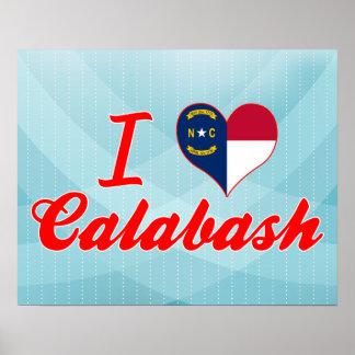 I Love Calabash, North Carolina Print