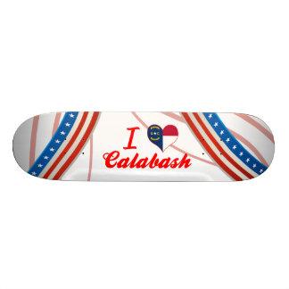 I Love Calabash, North Carolina Skateboard Deck