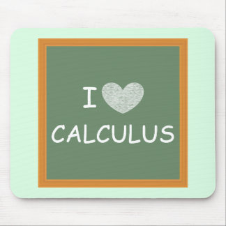 I Love Calculus Mouse Pad