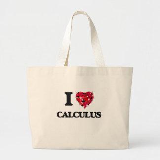 I love Calculus Jumbo Tote Bag