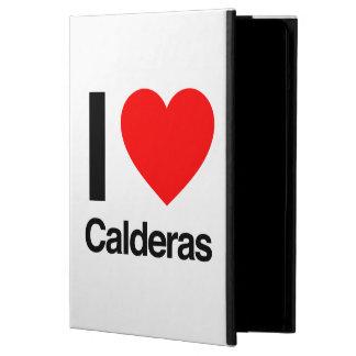 i love calderas iPad air covers