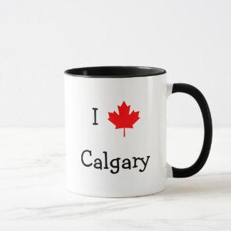 I Love Calgary Mug