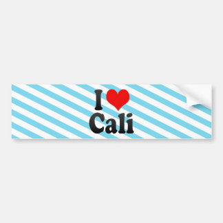 I Love Cali, Colombia Bumper Sticker