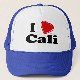 I Love Cali Trucker Hat
