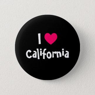 I Love California Button