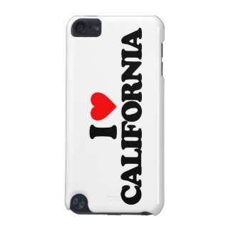 I LOVE CALIFORNIA iPod TOUCH 5G COVERS